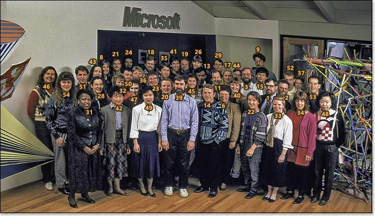 The core of the team that created PowerPoint 3.0 in 1992