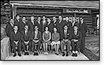 Rampart College class photo, Rose Wilder Lane Hall, 1964 (click to enlarge)