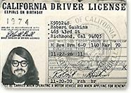 Driver License 1970